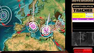 8/15/2017 -- Global Earthquake Update -- Pacific set for new large earthquake activity -- BE READY