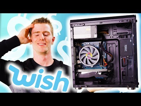 Building a PC using only Wish