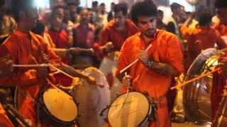 Garjana Dhol Tasha ani Zhanj Pathak, Dombivli  - 21 Divasacha Raja - Kisannagar - Thane (W)