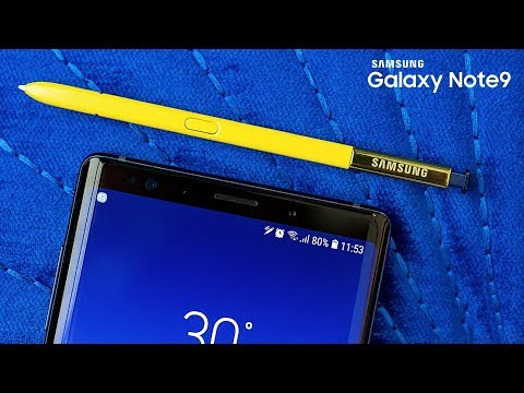 Samsung Galaxy Note 9 TOP 9 FEATURES