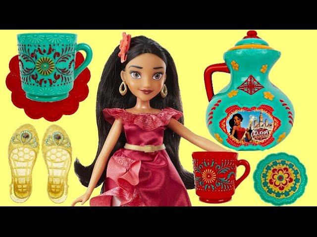 Disney Princess Elena of Avalor TEA PARTY, Coronation Accessory Play Set, Costume Toy Surprise/ TUYC