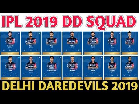 Xxx Mp4 IPL 2019 Delhi Daredevils Team Squad Indian Premier League 12 DD Probable Team DD Player List 3gp Sex
