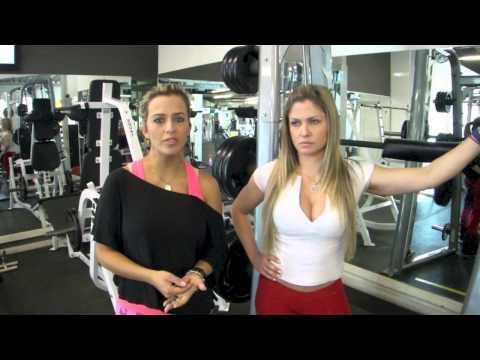 Exercícios para pernas Gabi e Mi