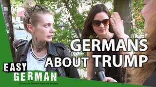 What Germans say about Donald Trump | Easy German 143
