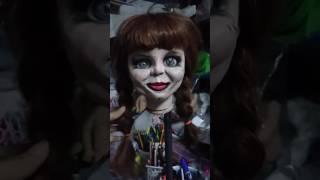 ตุ๊กตาผี แอนนาเบลล์(Annabelle Doll)  ฝีมือ อาร์ตไทย