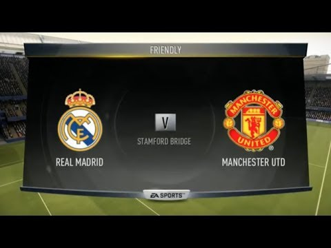 Fifa 17 Gameplay Xbox 360 Real Madrid vs Manchester United (2017) HD