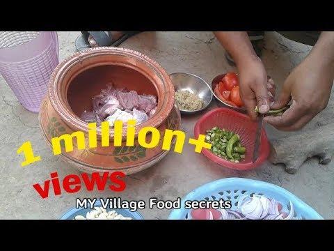 Xxx Mp4 Karahi Gosht Mitti Ki Handi Recipe Village Style❤ My Village Food Secrets 3gp Sex