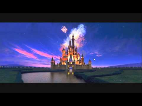 Walt Disney Pictures logo Turns into a pop up book .wmv