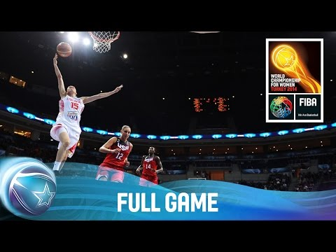 watch Spain v USA - Full Game - Final - 2014 FIBA World Championship for Women