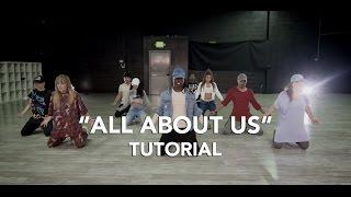 Jordan Fisher - All About Us | Dance Tutorial | WilldaBEAST Adams