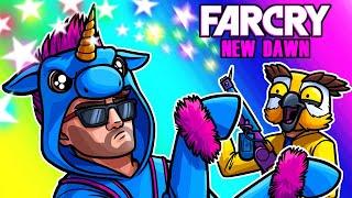 Far Cry: New Dawn Funny Moments - Unicorn Moo