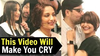 Sonali Bendre Cutting Her Hair After Cancer Will Make You Cry