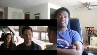 CAPTAIN AMERICA: CIVIL WAR CLIP 'ANT-MAN MEETS CAPTAIN AMERICA' - REACTION!!!!