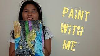 E40 Paint with Me | Uriel TV