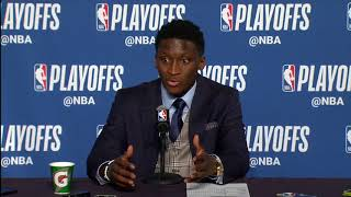 Victor Oladipo postgame interview / Pacers vs Cavaliers Game 5