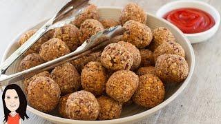 Best Ever Vegan Meatless Meatballs