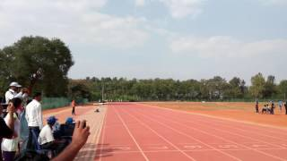 District level 100m running race finals(Banglore North)