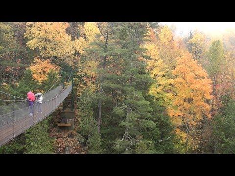 2017加拿大魁北克之聖安妮� 谷及脈脈含情瀑布公園賞楓記