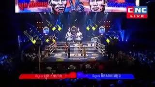 Long Samnang vs Phitsaychun (Thai) CNC Khmer boxing 09/12/2018