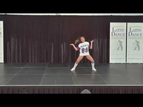 Australian Latin Dance Championships Finals Youth Mixed Latin Soloist Female Tiama Nukunuku