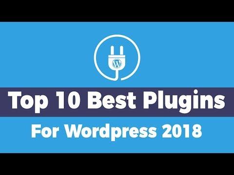 Top 10 Plugins For Wordpress 2018 | Must Have Plugins For Wordpress!