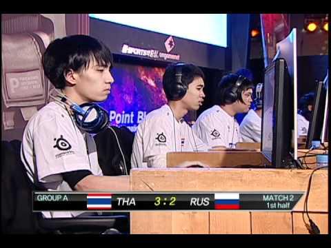 1st PBIC Russia vs. Thailand.
