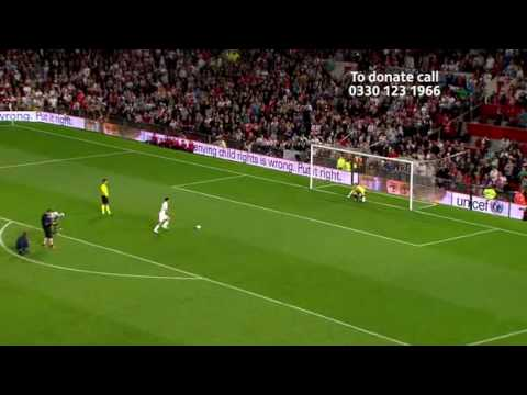 Soccer AID 2010 FULL MATCH england vs rest of the world part11