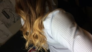 Ombre Hair Tutorial Full Process (Dark Hair)