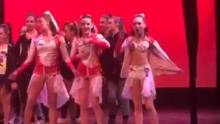 ALDC Dancing at Awards to Kendall's song!   Dance Moms Season 5 Episode 14