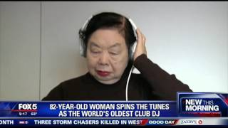 82-year-old woman still turning the tables as world's oldest DJ