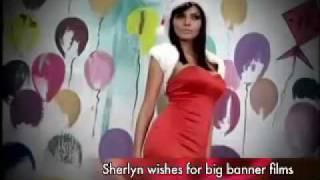 Sherlyn Chopra is the Bikini Santa