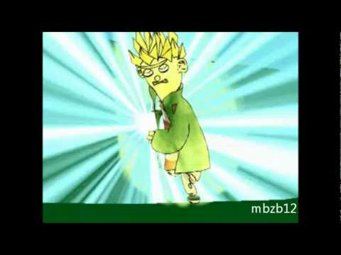 Super Saiyan Ed vs Johnny 2x4