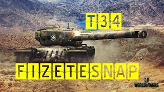 World of tanks By Der_Weisse_Mongol T34 cleverland