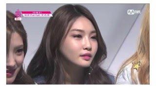 [프로듀스101] 3화 김청하 cut