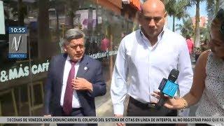 César Acuña y Joaquín Ramírez tomaron desayuno juntos tras la juramentación del gabinete Villanueva