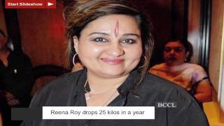 Reena Roy drops 25 kilos in a year - TOI