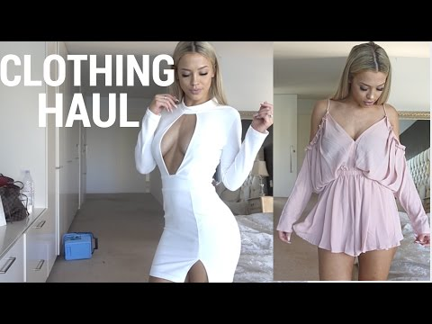 CLOTHING HAUL | white fox boutique