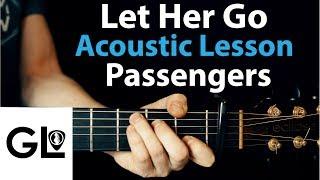 Let Her Go - Passenger: Acoustic Guitar Lesson + TAB 🎸How To Play Chords/Rhythms