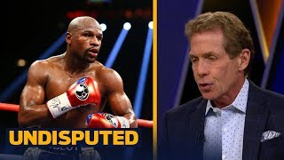 Shane Mosley predicted Mayweather will be laughing vs McGregor - Skip Bayless reacts | UNDISPUTED