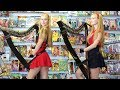 Download Video Download BIG BANG THEORY Theme (Harp Twins) Camille and Kennerly 3GP MP4 FLV