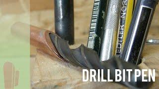 Drill bit pen