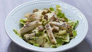 طرز تهیه سالاد سزار ایرانی پسند با خوشمزه ترین سس | Most Delicious Caesar Salad Recipe