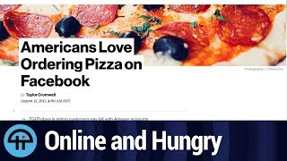 Ordering Pizza on Facebook