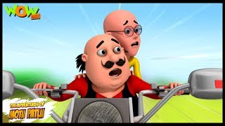 Mobike Ride - Motu Patlu in Hindi WITH ENGLISH, SPANISH & FRENCH SUBTITLES