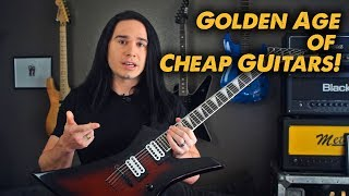 Are we in the Golden Age of Cheap Guitars? - Jackson JS32 - Demo /Review