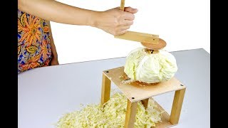 How to Make Cabbage Slicer, You Can Make it at Home