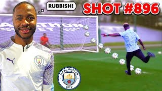 I Took 1000 Penalties & RAHEEM STERLING Picked My BEST Goal!! (Manchester City)