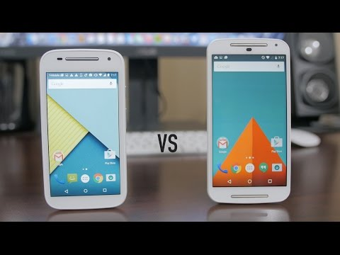 Moto E (2nd Gen) vs Moto G (2nd Gen) - Dogfight!