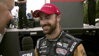 Hinchcliffe: The support from this city was amazing