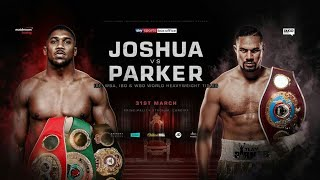 Anthony Joshua VS Joseph Parker - FULL FIGHT [HD]